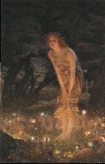 Midsummer Eve, by Edward Robert Hughes