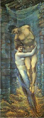 The Depths of the Sea, by Sir Edward Burne-Jones